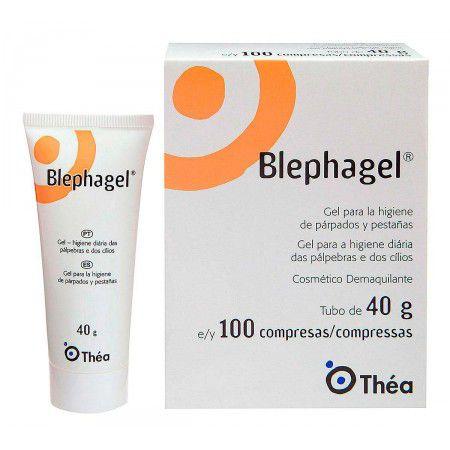 BLEPHAGEL 40GR + 100 COMPRESSAS