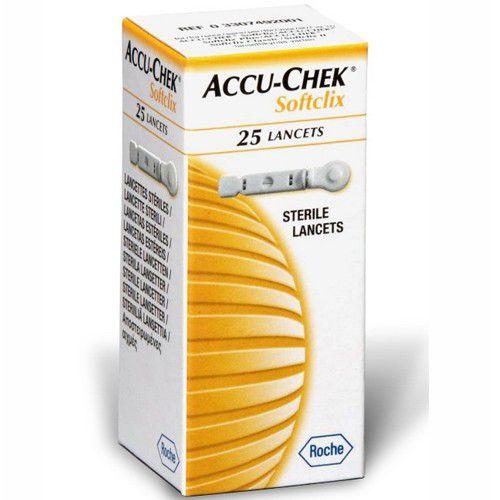 ACCU-CHEK SOFTCLIX 25 LANCETAS