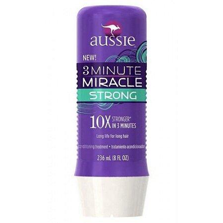 Máscara 3 Minutos Miracle Strong 236ml - Aussie