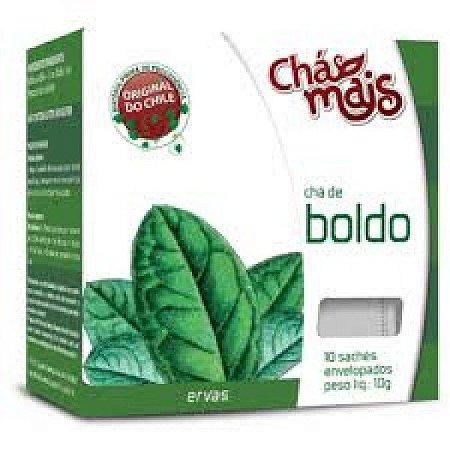 Chá de Boldo 10 envelopes - Chá Mais