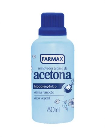 Acetona Removedor Farmax 80ML