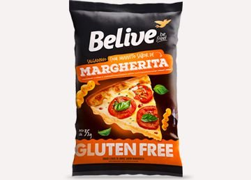 SNACKS MARGHERITA 35GR BELIVE