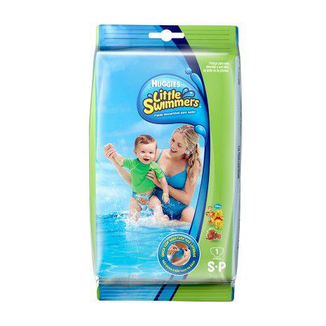 Fralda de Piscina Huggies Little Swimmers  Tam: P 1un