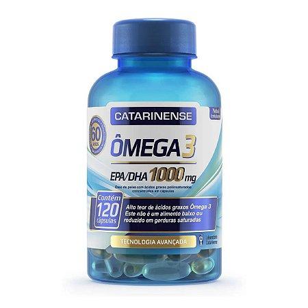 Omega 3 Epa/Dha 1000mg 120CPS - Catarinense