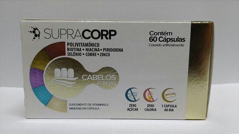 Supracorp Cabelos e Unhas 60caps - Catarinense
