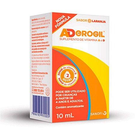Vitamina A+D - ADEROGIL GTS 10ML