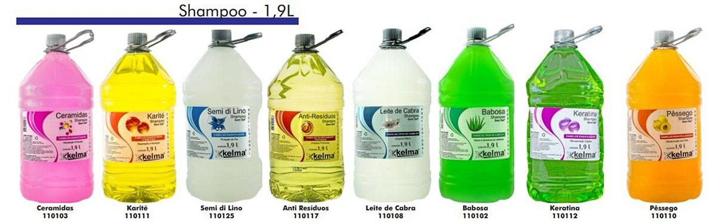 Shampoo Kelma de 1,9 litros