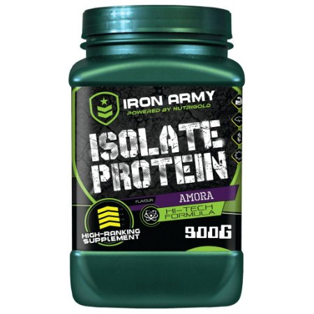 Isolat Protein - 900gr- Amora - Iron Army (whey Isolado)