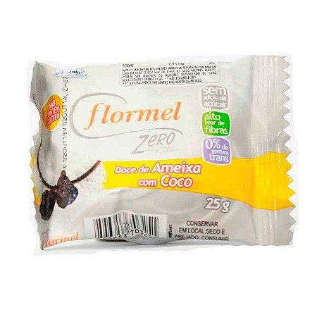 Doce Flormel 25g Ameixa com Coco 0% Açucar