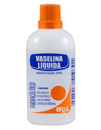 Vaselina Liquida 100ml - IFAL