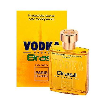 Perfume Vodka Brasil For Men Original Paris Elysees 100ml