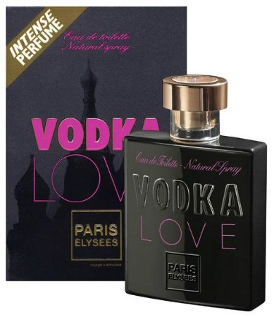 Perfume Vodka Love Woman Paris Elysses 100ml