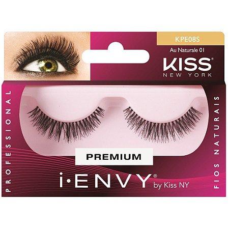 kiss NY Cilios Au Naturale 01 KPE08S