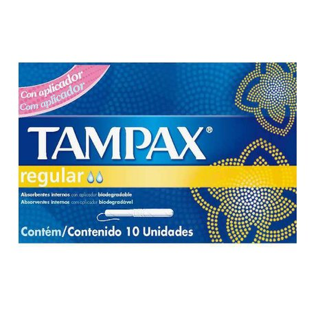 Abs Tampax c/ 10 unid Regular Médio