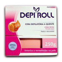 CERA DEPI-ROLL TRAD QUENTE ROSA 250GR