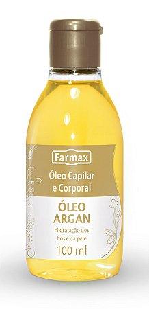 Farmax Óleo Capilar 60mL Argan