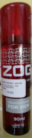 Desodorante Zog Aerosol Wine For Men 90ml