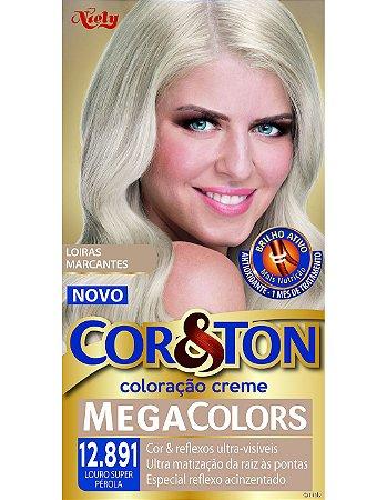Tintura Cor&Ton 12.891 Louro Super Perola