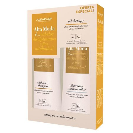 Alta Moda Kit Sh + Cond Oil Therapy