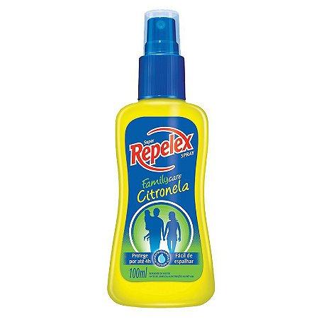 Repelente Repelex Citronela 100ml Spray