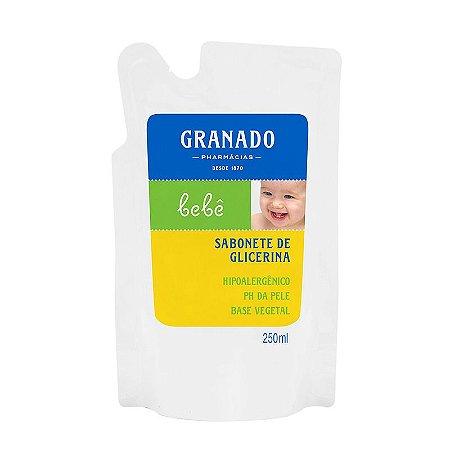 Sabonete Granado Refil Infantil Glicerina 250ml