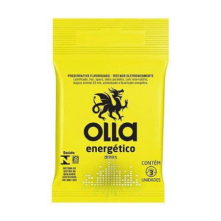 Preservativo Olla 3un Energetico Drinks