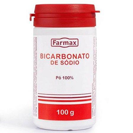 BICARBONATO DE SODIO POTE 100GR FARMAX
