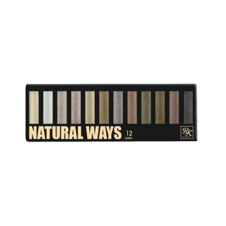 Paleta de Sombras RK By Kiss NY Natural Ways com 12 cores