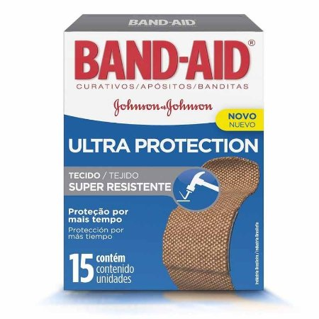 Band Aid Ultra Protection Super Resistente c/15 unidades