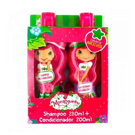 Kit Nutriex Shampoo 230ml + Condicionador 200ml Moranguinho