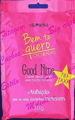 Vita Seiva SOS Shock Bem te Quero Cacheadas Good Nite 30g
