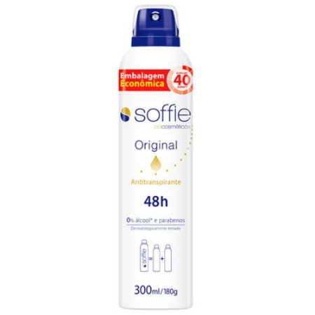 Desodorante SOFFIE Original AEROSOL 48H 300ML