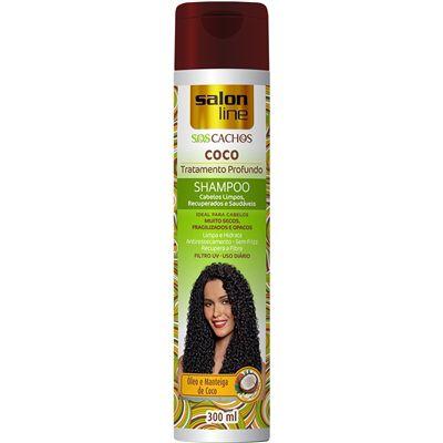 Shampoo Salon Line SOS Cachos de Coco 300ml