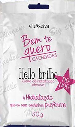 Vita Seiva SOS Shock Bem te Quero Cacheadas Hello Brilho 30g