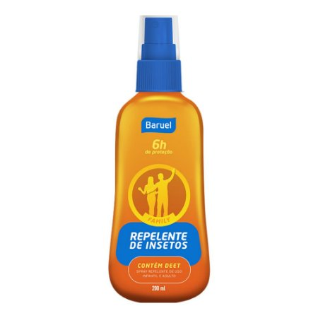 Repelente Spray Deet Baruel Family 200ml