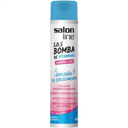 Shampoo Salon Line S.O.S Bomba Leve 300ml