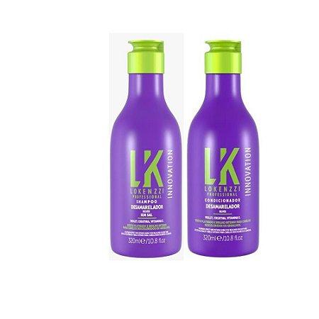 Kit Lokenzzi Desamarelador Shampoo + Condicionador