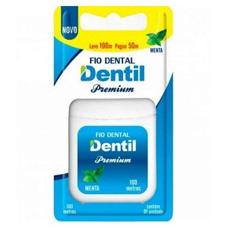 Fio Dental Dentil Premium 100m Menta