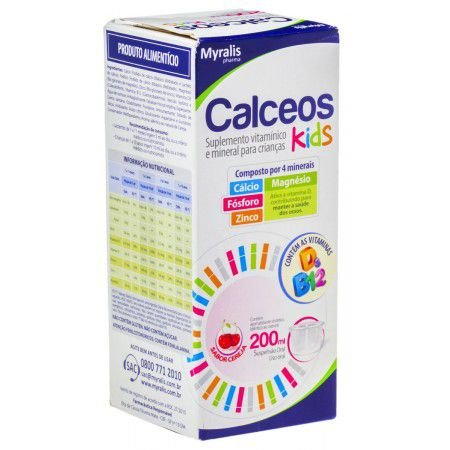 CALCEOS KIDS 200ML