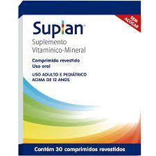 SUPLAN com 30 comprimidos