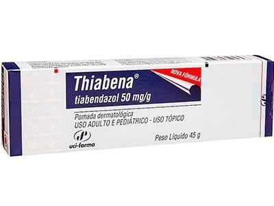 TIABENDAZOL - THIABENA pomada  45g