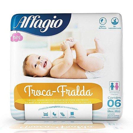 Affagio Lençol Troca Fralda 06un