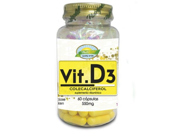 Vitamina D3 550mg 60cps - Nutrigold