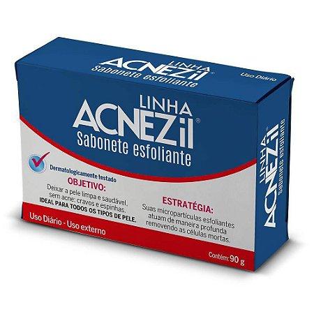 Acnezil Sabonete 90gr Esfoliante Cimed