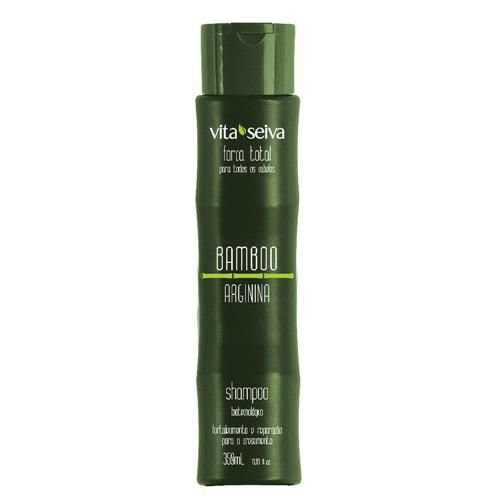 Vita Seiva Bamboo Arginina Shampoo Sem Sal 350ml