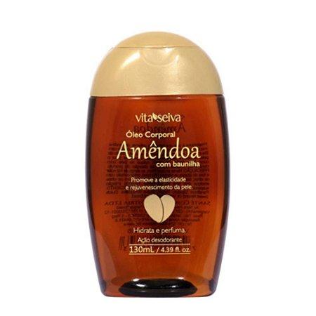 Oleo de Amendoa Corporal com Baunilha Vita Seiva 130ml