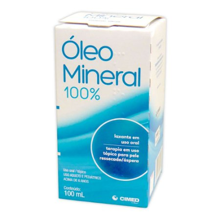 OLEO MINERAL 100 ML - CIMED
