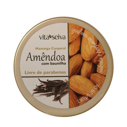 Manteiga Corporal  Amendoa com Baunilha 150g Vita Seiva