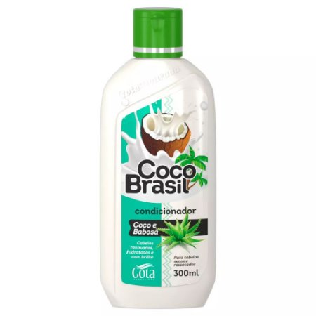 Condicionador Gota Dourada Coco E Babosa 300ml