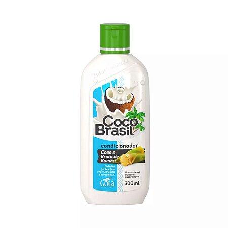 Condicionador Coco+Broto de Bambu Gota Dourada 300mL